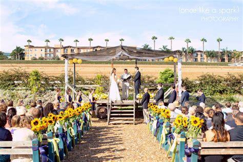 wedding reception venues in carlsbad california carlsbad flower fields ranch events