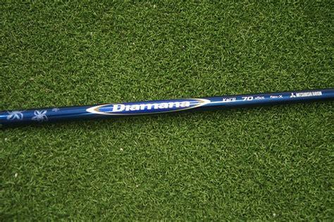 golf shaft mitsubishi diamana rf tip 335 new mitsubishi rayon diamana li 70 x stiff driver wood