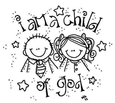 I Am A Child Of God Coloring Page free coloring pages of i am a child of god