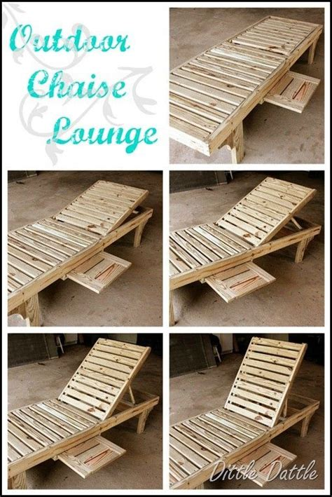 Diy Chaise Lounge Diy Chaise Lounge Chair By Francis Gardening Pinterest