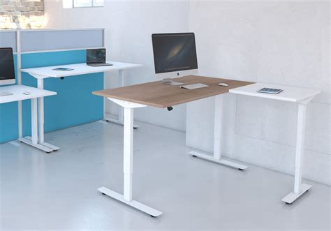 sit or stand desk freedom lite sit stand desk