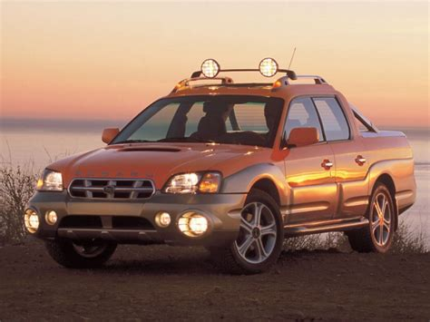 subaru baja 2002 2006 subaru baja review top speed