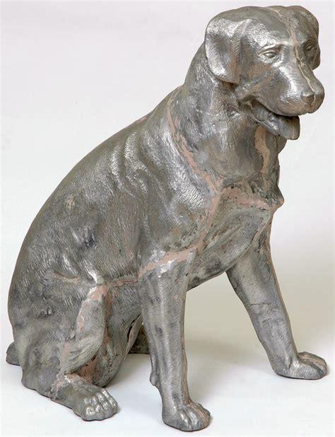 rottweiler statue cast statuary rott