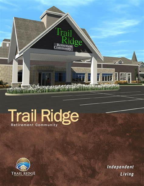 Garden Ridge Isd Trail Ridge Independent Living Apartment Brochure 12pg By