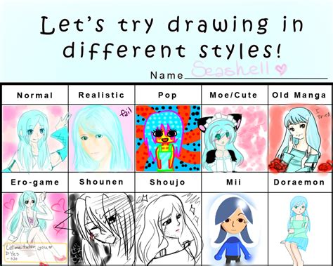 Different Meme - different styles meme by hokimaru
