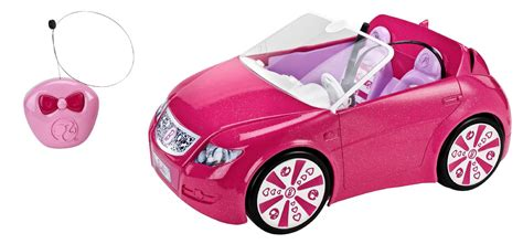 barbie cars with back barbie remote control convertible cruise with the top