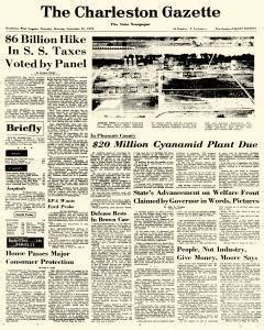 Charleston Gazette Records Charleston Gazette Newspaper Archives Sep 21 1972