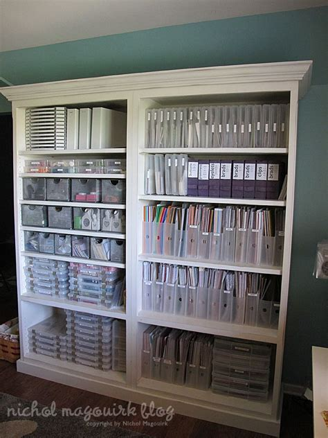 Craft Paper Storage Ideas - paper organization organizations tips rooms storage