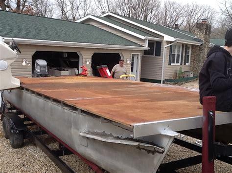 rebuilding back to back boat seats started 1990 sunbird 24 rebuild pontoon forum gt get