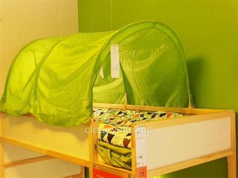 ikea bed tent new ikea kuda children bed tent canopy color green white
