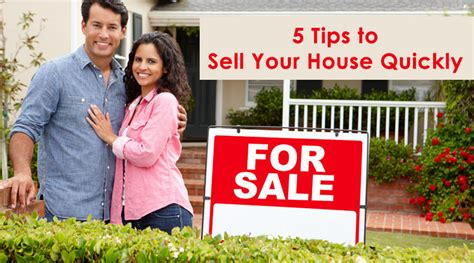 5 tips to sell your house quickly dot