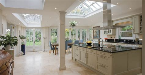 Conservatories And Orangeries Kitchens by Open Plan Conservatory Provides A Kitchen Dining