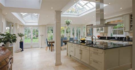 kitchen conservatory designs open plan conservatory provides a kitchen dining