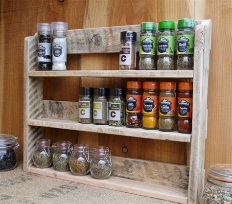 kitchen spice rack ideas best 25 pallet spice rack ideas on kitchen