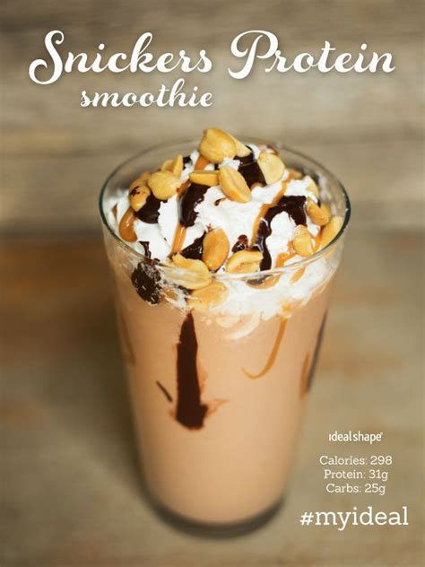 Cottage Cheese Protein Shake by Snickers Protein Smoothie 1 2 Cup Free Cottage Cheese