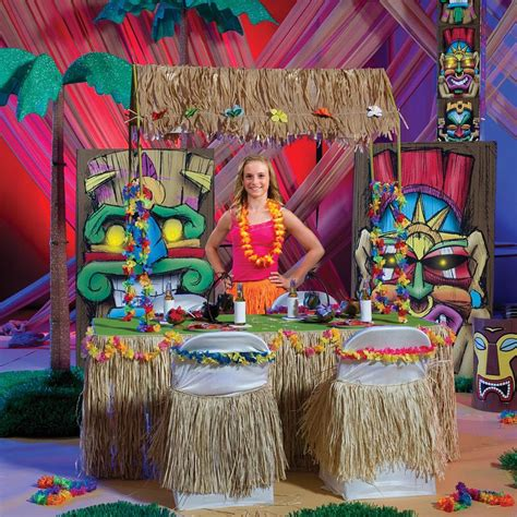 Tiki Hut Topper Theme Hawaii Tiki