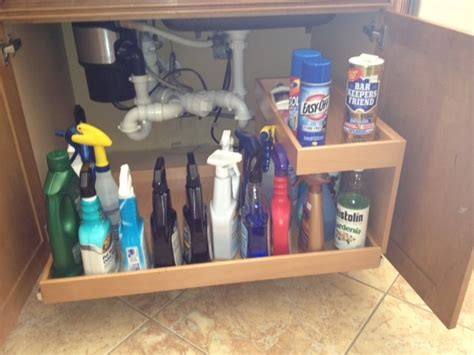 kitchen sink cabinet organizer under sink pull out shelves kitchen drawer organizers