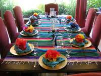 mexican table decorations cake ideas and designs