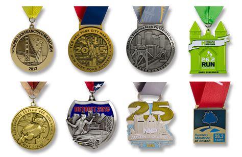 Handmade Medals - custom marathon medals