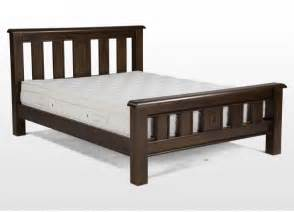 Wood Bed Frame For Mattress 25 Best Ideas About Dark Wood Bed Frame On Pinterest
