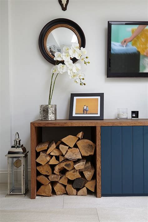 Gorgeous Dining Rooms the artful woodpile 30 fabulous firewood storage ideas