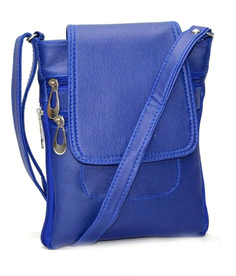 Blue Sling Bag buy utsukushii blue sling bag at best prices in india snapdeal