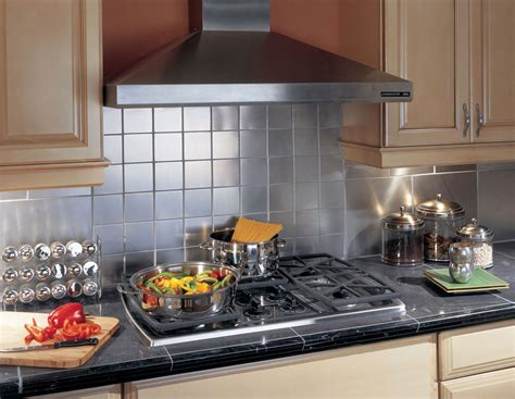 Do It Yourself Kitchen Backsplash Ideas by Stainless Tile Backsplash Ideas Decosee Com