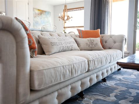 Chesterfield Sofa In Living Room Photo Page Hgtv