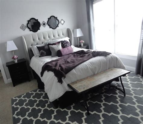 Gray And Purple Bedroom Ideas by 1000 Ideas About Purple Grey Bedrooms On