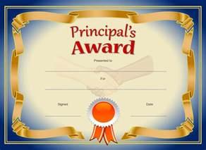 principal s award blue amp gold principal collection