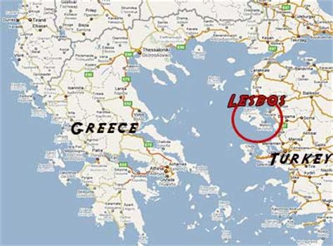Island of lesbos and lesbians
