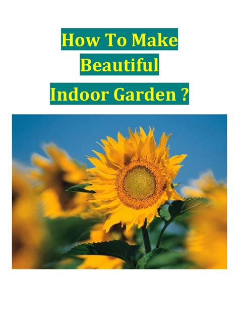 how to make a beautiful garden how to make beautiful indoor garden
