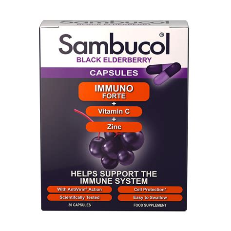 Sambucol Black Elderberry Immuno Forte sambucol immuno forte black elderberry chemist direct