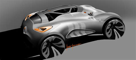 renault concept renault captur concept design sketches car body design