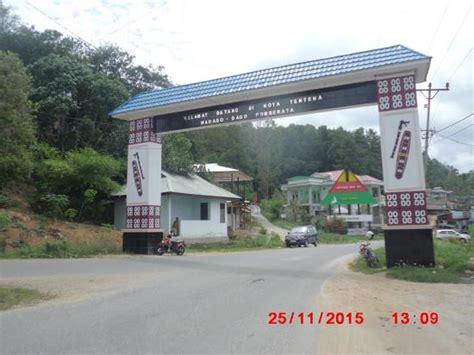 Pintu Gerbang pintu gerbang kota tentena picture of hotel pamona indah