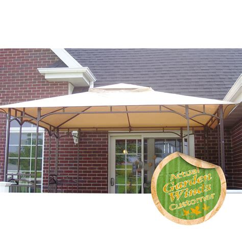 menards awnings menards 11 x 9 gazebo replacement canopy garden winds