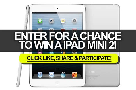 Enter For A Chance To Win Money - enter for a chance to win a ipad mini 2