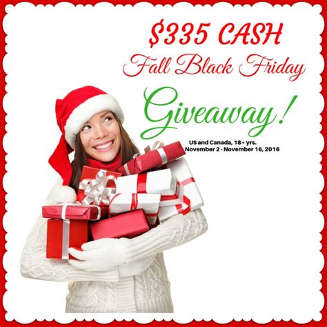 Friday Giveaway - fall black friday giveaway life with lorelai