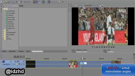 membuat video berjalan mundur cara membuat video berjalan mundur di sony vegas pro youtube