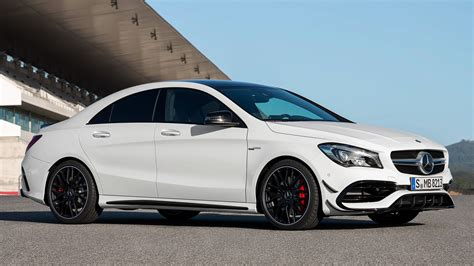 mercedes amg cla  aerodynamics package wallpapers