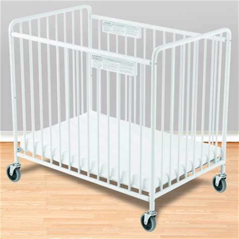 Foundations Chelsea Compact Steel Non Folding Crib With Foundations Baby Cribs