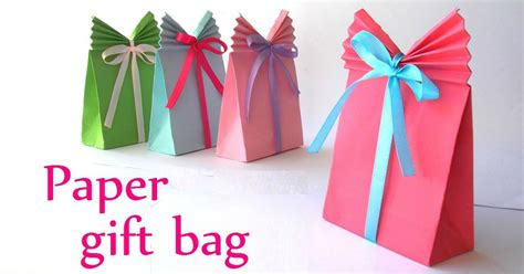 How To Make Birthday Gifts Out Of Paper - that s a wrap how to make your own gift bag it s so easy