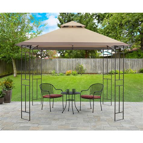 Gazebo Canopy Outdoor Walmart Com Patio Gazebo Walmart