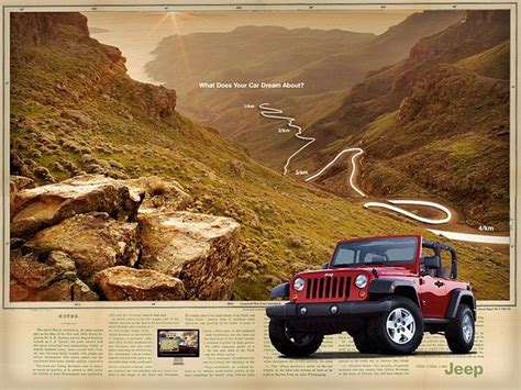 jeep wrangler ads 35 best jeep ads 2000s images on pinterest jeep stuff