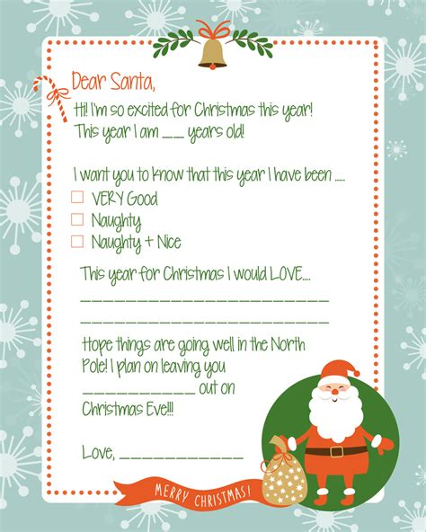 letters to santa search results for fill in letters to santa calendar 2015