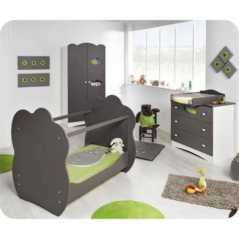 chambre enfant cdiscount chambre b 233 b 233 compl 232 te alt 233 a taupe achat vente chambre
