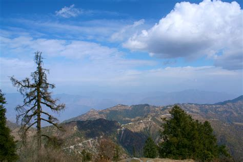 Uttarakhand Search File View From Dhanaulti Uttarakhand Jpg