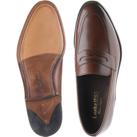 loake loafers sale loake shoes loake sale whitehall loafer in brown