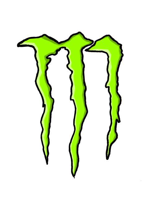 monster tattoo png png logo monster energy clipart best