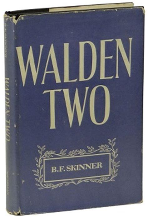 walden book cover poster walden two